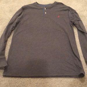 Boys Nautica long sleeve shirt